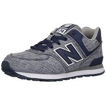 New Balance Unisex-Kinder Kl574wtg M Sneakers, Blau (Blue), 39 EUR - Width W