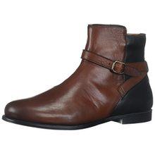 Sebago Damen Plaza Ankle Boot Chelsea, Braun (Cognac/Black Leather), 38.5 EU
