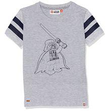 Lego Wear Jungen Star Wars Teo 350-T-Shirt, Grau (Grey Melange 912), 128