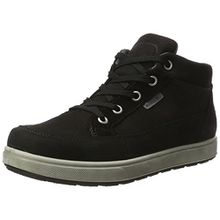 Ricosta Jungen Leon Hohe Sneaker, Schwarz, 00038 EU