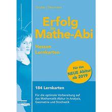 Buch - Erfolg im Mathe-Abi 2019 Hessen Lernkarten