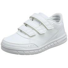 adidas Unisex Baby AltaSport CF Sneaker, Elfenbein (Ftwwht/Ftwwht/Clegre Ba9513), 21 EU