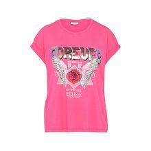 VILA Shirt VIEVY T-Shirts silber Damen
