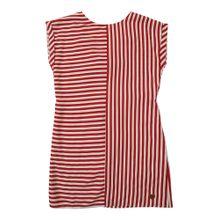 Pepe Jeans Kleid 'JASMINE' rot / weiß