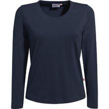 "HAKRO Damen Langarm T-Shirt ""Classic"" - 178 - tinte - Größe: XXL"