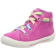 Superfit Mädchen Tensy Hohe Sneaker, Pink (Pink Kombi), 32 EU
