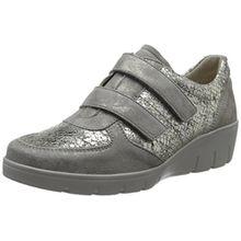 Semler Damen Judith Velcro Sneakers, Grau (Panna), 39.5 EU