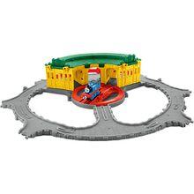 """Thomas """"Adventures"""" Lokschuppen Spielset inkl. Lok Thomas"""
