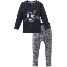 Schiesser langer Schlafanzug - Play Soccer