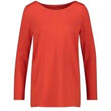 Gerry Weber T-Shirt 1/1 Arm Longsleeve mit Ziernähten rot Damen