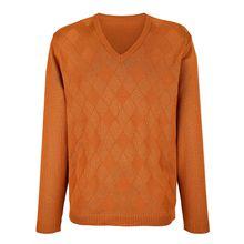 Roger Kent Pullover orange Herren