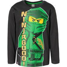 LEGO Ninjago Langarmshirt  anthrazit Jungen Kleinkinder