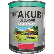 Holzlasur-Set Rubinrot 750 ml