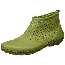 El Naturalista S.A N389 Soft Grain Torcal, Damen Kurzschaft Stiefel, Grün (Green), 40 EU