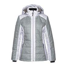ICEPEAK Skijacke 'VENLA' graumeliert / weiß