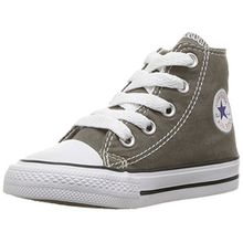 Converse Chuck Taylor All Star Hi, Unisex-Kinder Sneaker, Charcoal, 20 EU