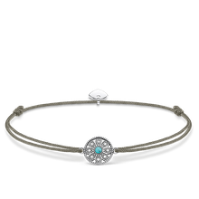 "Thomas Sabo Armband ""Little Secret Ethno Amulett"" braun LS022-378-5-L20V"