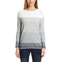 Cecil Damen Pullover 300509 Fine, Mehrfarbig (Pure Off White 20125), XXL