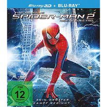 BLU-RAY The Amazing Spider-Man 2 - Rise of (3D Vers.) Hörbuch