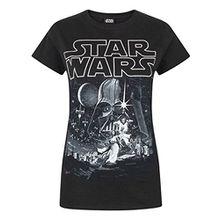 Star Wars A New Hope Poster Women's T-Shirt (S)