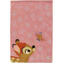 Kinderteppich Bambi, 115 x 168 cm rosa