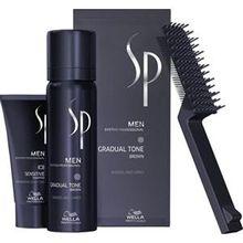 Wella SP Men Natural Shade Gradual Tone Gradual Tone schwarz 60 ml & Sensitive Shampoo 30 ml 1 Stk.