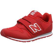 New Balance Unisex-Kinder Kv373v1y Sneaker, Rot (Red), 35 EU