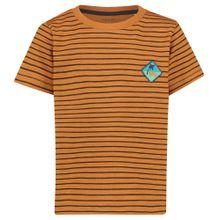 Noppies T-Shirt 'Spearfish' orange / schwarz