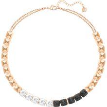 Glance Halskette, mehrfarbig, rosé Vergoldung