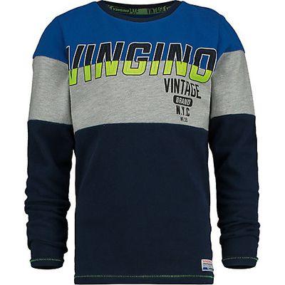 Vingino Logo Jungen Boxershorts 3 Pack Capri Blue