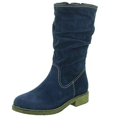 Tamaris Damen Stiefel Blau, Schuhgröße:EUR 39