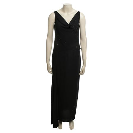 Chanel kleid dunkelblau