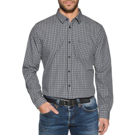 62ad4b3a0576c1 Tom Tailor Hemd Regular Fit in grau für Herren