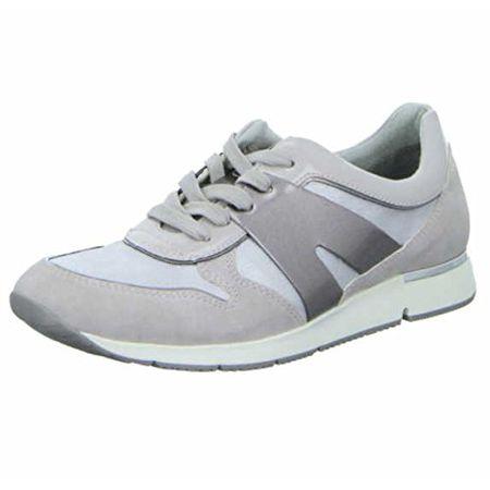 Tamaris Damen Sneakers GrauSilber, Schuhgröße:EUR 42