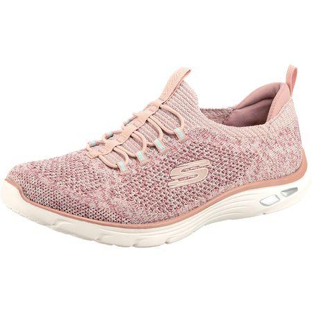 Skechers GO Walk 2 Spark, Damen Sneakers, Pink (Hot Pink
