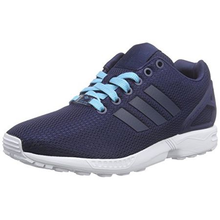 Adidas Zx Flux Adv Smooth Slip On Damen Sneaker Blau: Schuhe