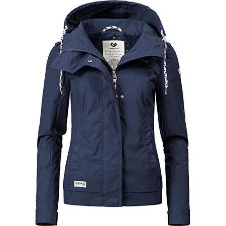 ragwear Gordon Jacke für Damen Blau Winterjacken sale