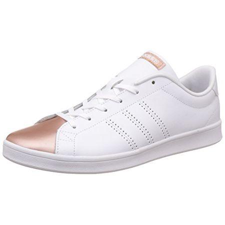 adidas damen vs advantage w sneaker low hals