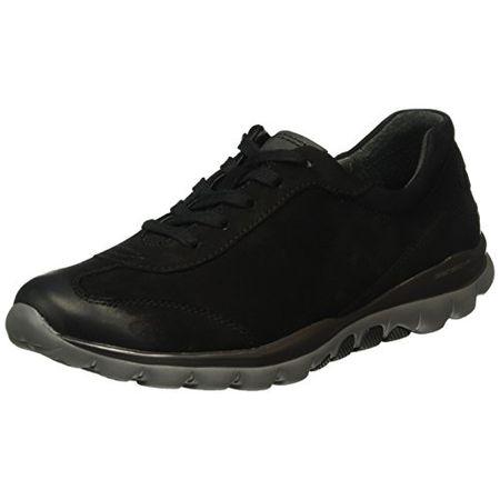 Gabor Shoes 56.965 Damen Sneakers Schwarz (Schwarz 47), 41 EU (7.5 Damen UK)