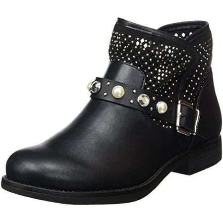 size 40 022ad fed07 s.Oliver Damen 25305 Biker Boots, Schwarz (Black), 36 EU