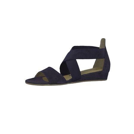 Tamaris 1 28138 22 805 Damen Navy Blau Sandale Sandalette mit TOUCH IT Sohle Klassische Sandalen blau Damen