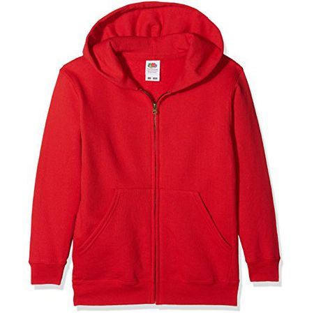 Fruit of the Loom Kids Lightweight Hooded Sweat Kapuzen-Pullover//Sweatshirt