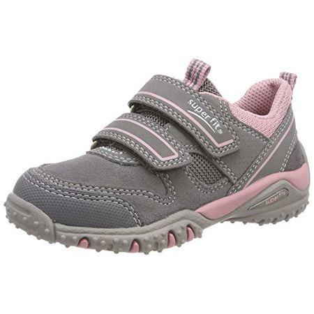 Superfit Mädchen SPORT4 Sneaker, Grau (Smoke Multi), 32 EU