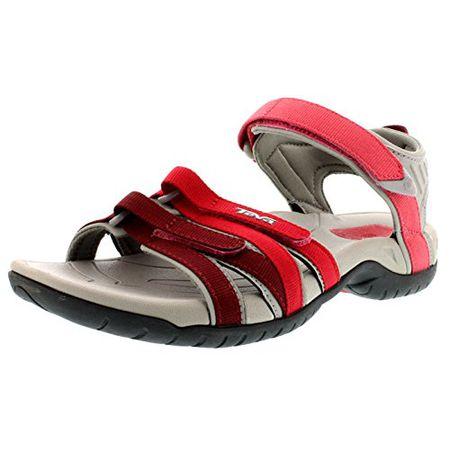 Teva Damen Original Universal Sommer Freizeit Outdoor Schuhe Sandalen Blau Rosa