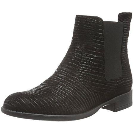 Tamaris Damen 25493 Chelsea Boots, Schwarz (Black Leather