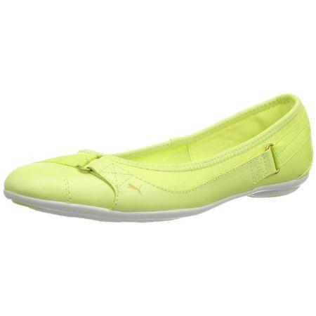 Puma Bixley Shine Wn's 356301 Damen Ballerinas, Gelb (sunny lime 03), EU 37 (UK 4) (US 6.5)