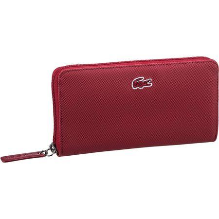 hot sale online 077fb 9d1d4 Lacoste Kellnerbörse Zip Wallet L 2285 Portemonnaies rot Damen