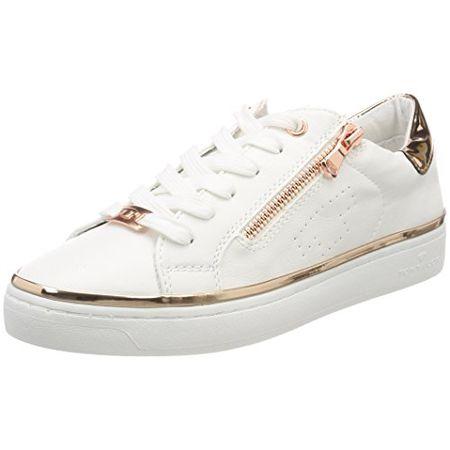 buy popular 7ea20 6d5fb TOM TAILOR Damen 4892603 Sneaker, Weiß (White), 41 EU