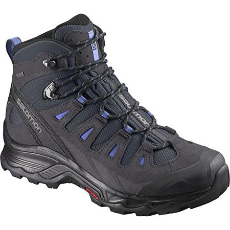 Salomon Damen L39072900 Trekking & Wanderstiefel, SchwarzBlau (BlackBlackWindy Blue), 38 23 EU