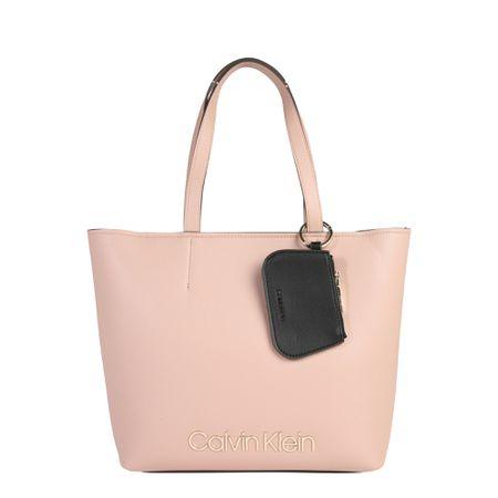 online store 155c7 21ab0 Calvin Klein Tasche 'CK MUST MED SHOPPER' nude